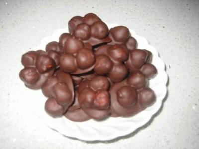 Cioccolatini con le nocciole