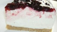 Torta fredda all'amarena