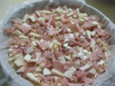 Cheesecake al prosciutto