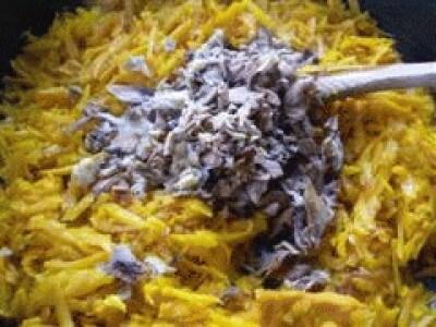 Lasagne alla zucca e funghi