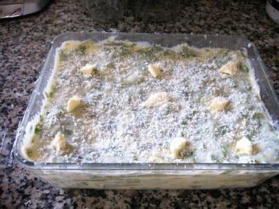 Lasagne filanti alle erbe aromatiche