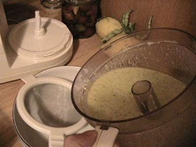 Gazpacho verde con astice