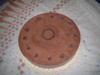 Torta gelato alla gianduja