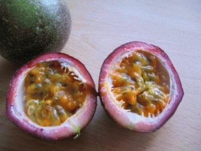 Gelato al mango e frutto della passione (senza gelatiera)