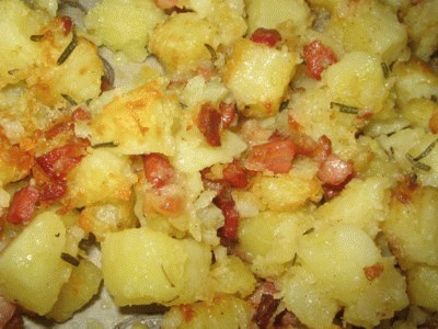 Patate al bacon