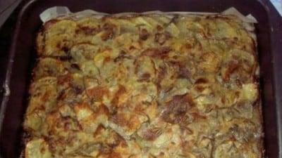 Patate e funghi croccanti
