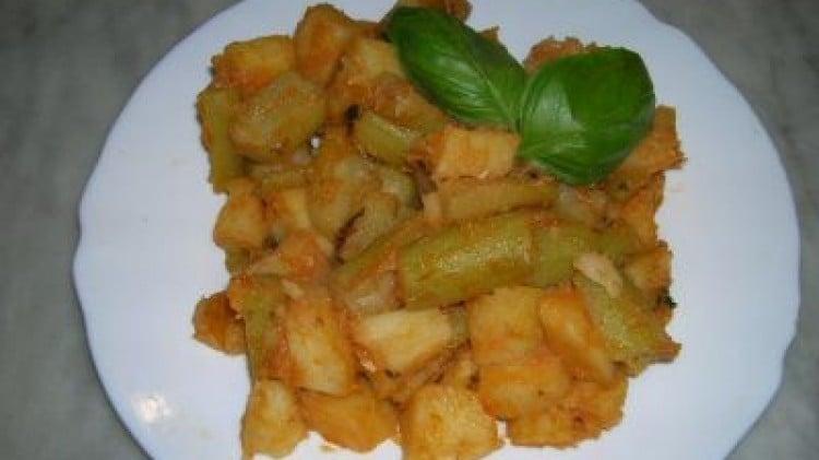Zucchine e patate