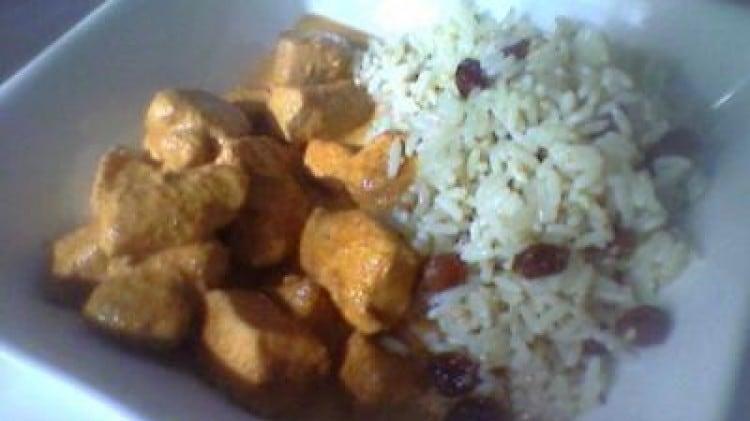 Petto di pollo alle spezie