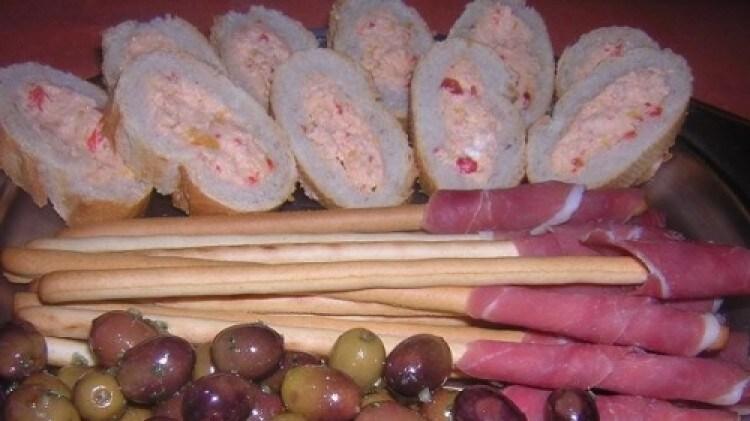 Baguette ripiena
