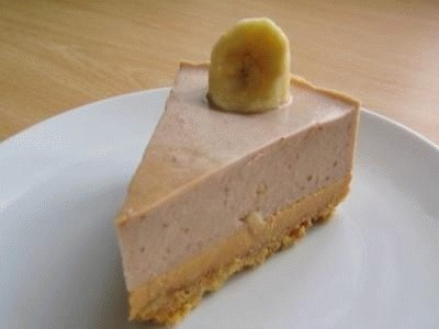 Banoffee mousse cake