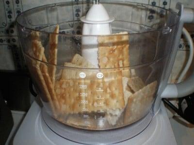 Cheesecake di fave e pecorino