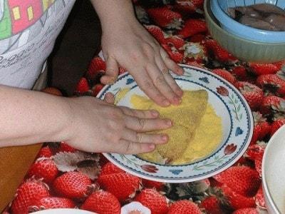 Cotolette di pescespada aromatizzate allo zenzero con impanatura di farina di mais