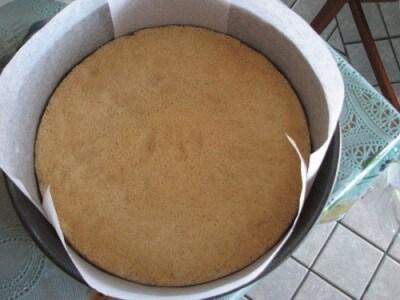 Torta con gelato setteveli