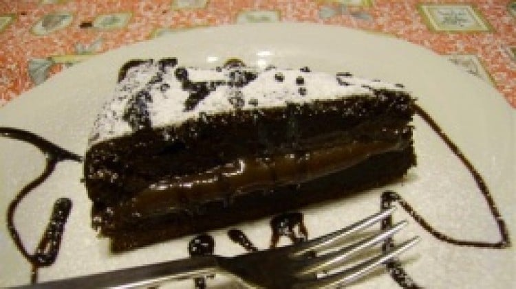 Torta fondente piccante al cacao
