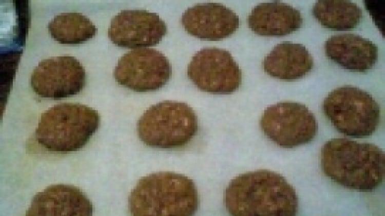 Biscotti d'avena e cacao