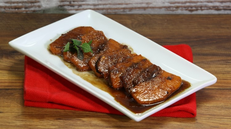 Zucca fritta all'agrodolce