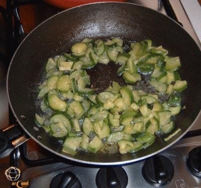 Calamari ripieni con zucchine