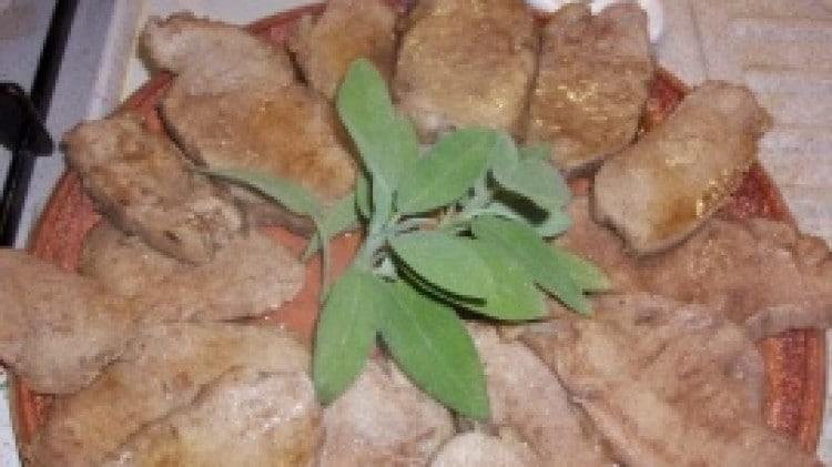 Arrosto di vitello con erbe aromatiche