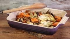 Teglia di zucca e finocchi al forno