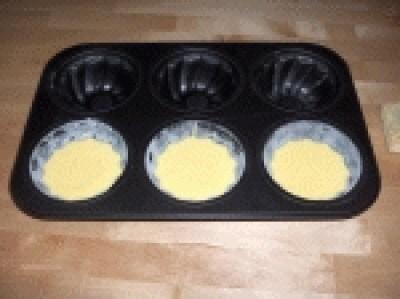 Tortini con ricotta e limone