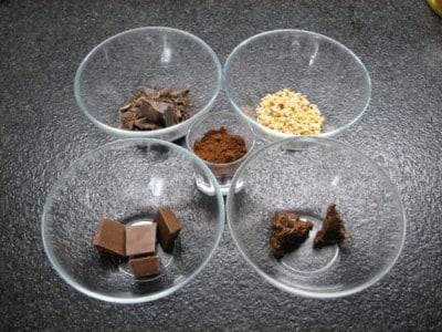 Baci al cioccolato fondente