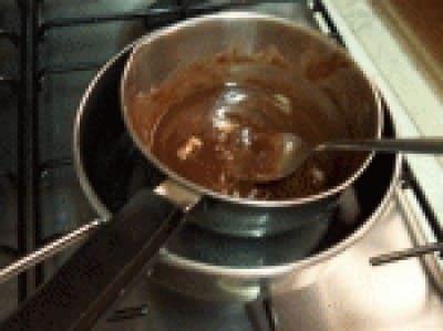 Rotolo con mousse al cioccolato