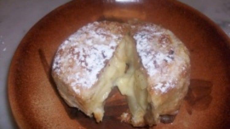 Rose di mele con crema pasticcera