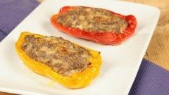 Peperoni con ripieno di carne