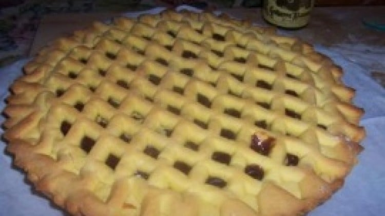 Crostata alla crema di nutella