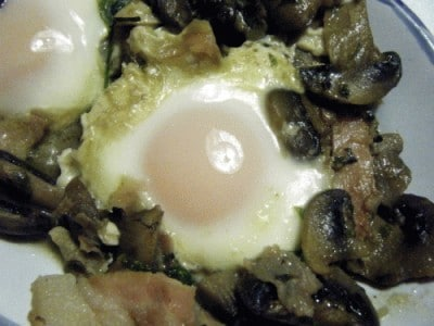 Uova alla boscaiola