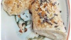 Tronchetto di Natale bianco con pistacchi e amaretti di patatilla