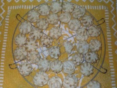 Pasticcini di pasta di mandorla
