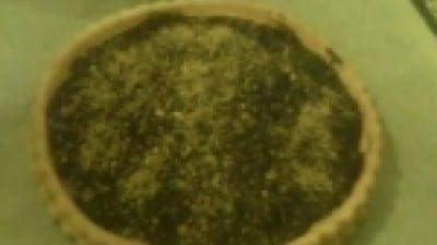 Torta nutella e crema all'arancia