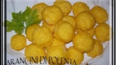 Arancini di polenta