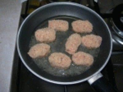 Bocconcini di cotechino con crema di lenticchie