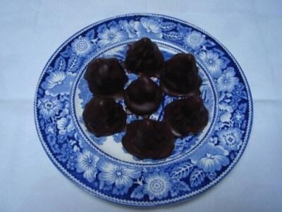 Fiamme al cioccolato