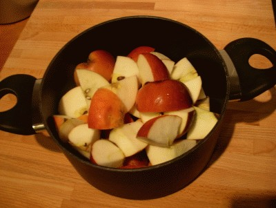 Gelatine di mele
