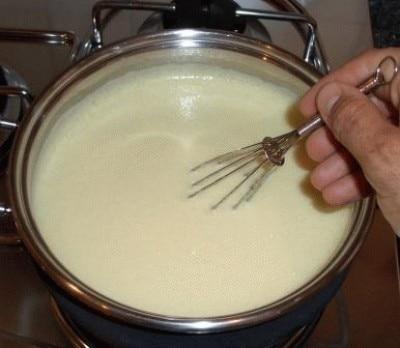 Crema pasticcera all'ananas