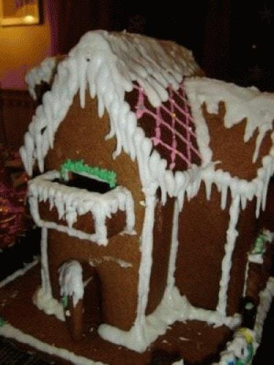 Casetta di Natale di pan di spezie