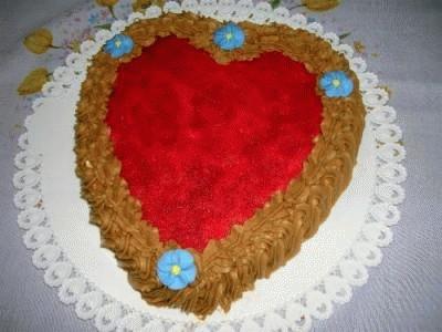 Torta cuore per San Valentino