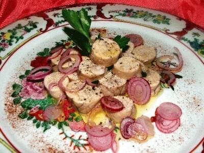 Uova di merluzzo in insalata