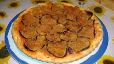 """Pizza alle melanzane """"mollicosa"""""""