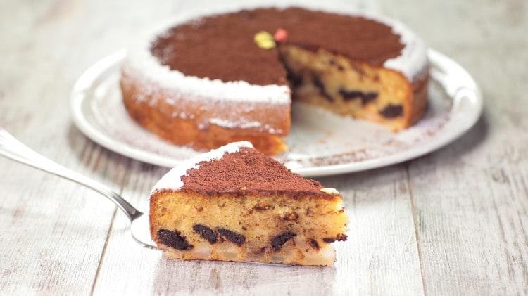 Torta Pere E Cioccolato Le Vostre Ricette Cookaround