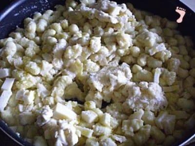 Gnocchetti ai quattro formaggi