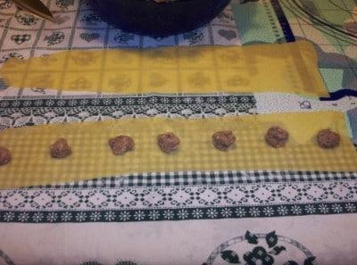 Anolini di stracotto Piacentini (anvein)