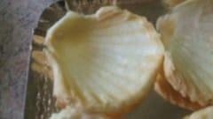 Conchiglie di pasta sfoglia