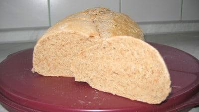 Pane al farro con pasta madre