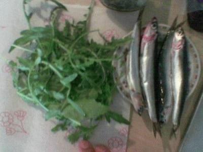 Orecchiette con alici e olive nere