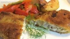 Filetto di pesce con ripieno di formaggio