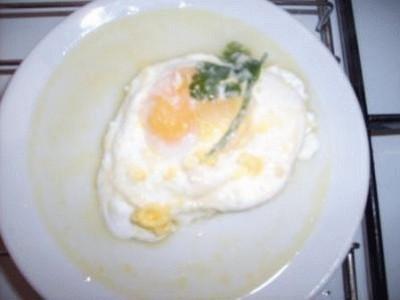 Uova delicate al parmigiano